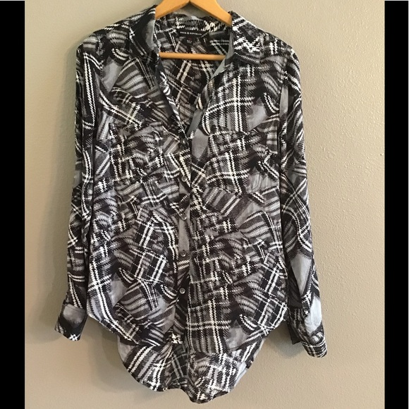 Rock & Republic Tops - Rock & Republic Button Down Blouse